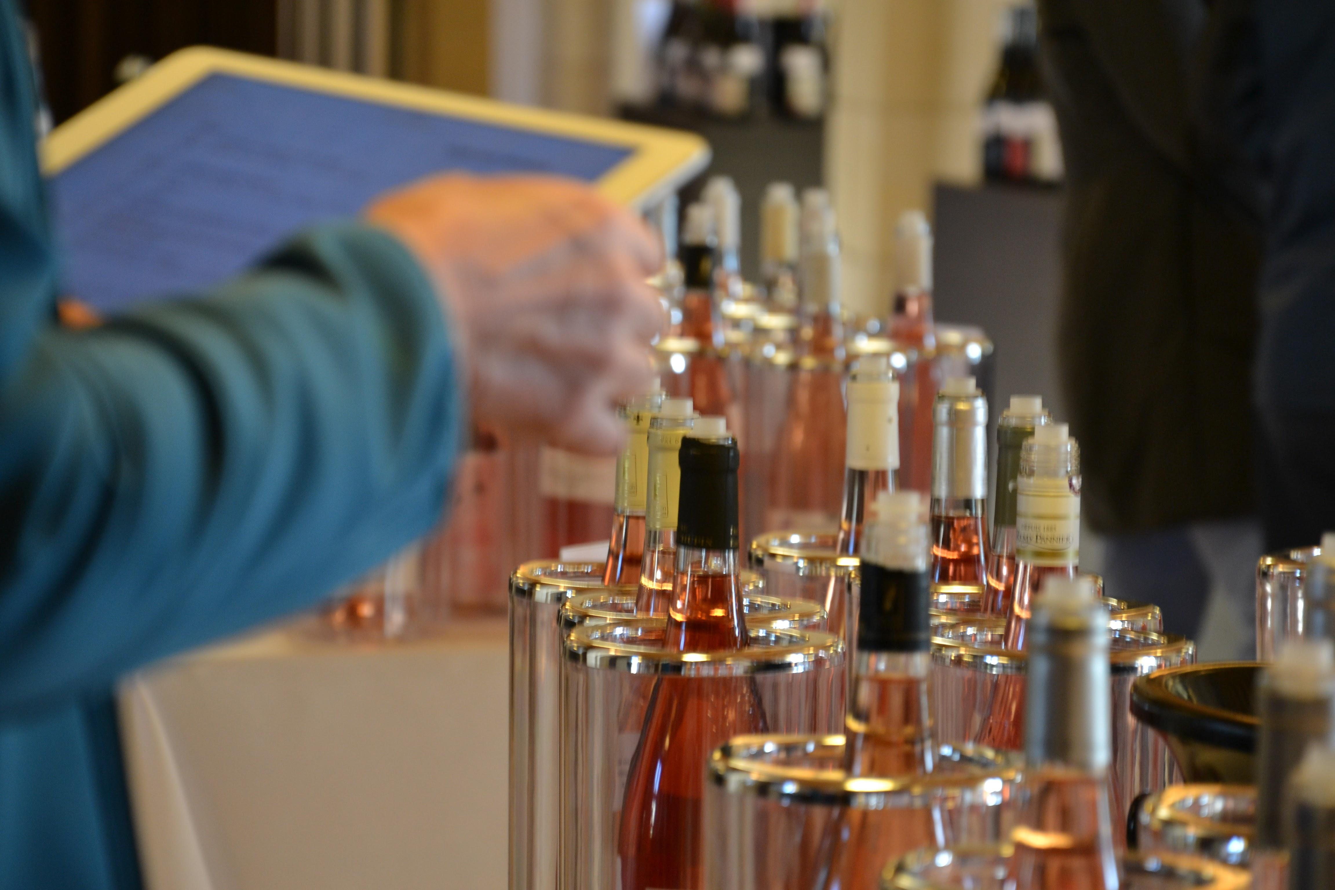 Dégustations des vins du val de Loire pendant Loire Millésime