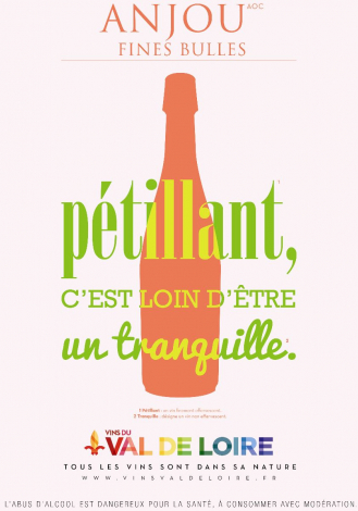 Poster of Anjou Fines Bulles, a sparkling wine