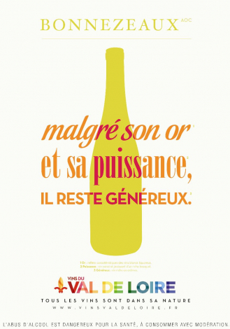 Poster of the Bonnezeaux, a powerful and generous wine