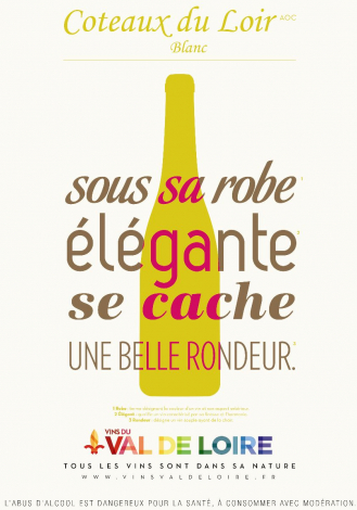 Poster of Coteaux du Loir, a white wine with an elegant robe