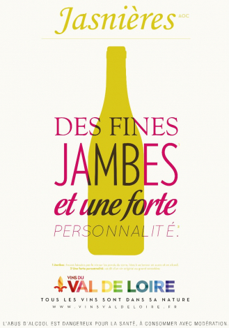 Poster of Jasnières, a sweet white wine with a strong personality